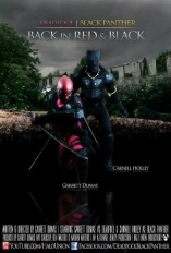 DeadPool Black Panther Back in Red & Black